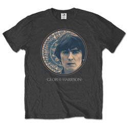 George Harrison Men's Tee: Circular Portrait