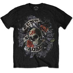 Guns N' Roses Men's Tee: Firepower