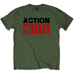 Hasbro Men's Tee: Action Man Logo