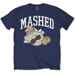Hasbro Men's Tee: Mr Potato Head Mashed