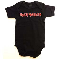 Iron Maiden Kids Baby Grow: Logo