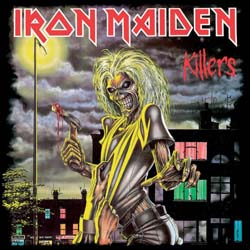 Iron Maiden Greetings Card: Killers