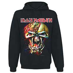 Iron Maiden Men's Pullover Hoodie: Final Frontier Big Head