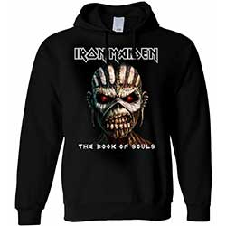 Iron Maiden Men's Pullover Hoodie: The Book of Souls