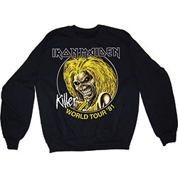 Iron Maiden Men's Sweatshirt: Killers 81