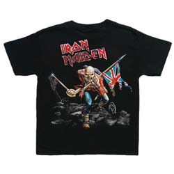 Iron Maiden Kids Toddler's Fit Tee: Trooper