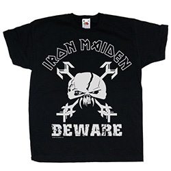 Iron Maiden Kids Youth's Fit Tee: Beware