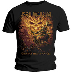 Iron Maiden Men's Tee: Ghost of the Navigator