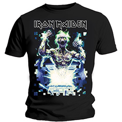 Iron Maiden Men's Tee: Speed of Light