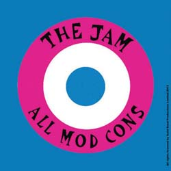 The Jam Single Cork Coaster: All Mod Cons