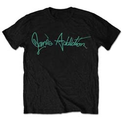 Jane's Addiction Men's Tee: Script