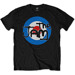 The Jam Men's Tee: Target Logo with Soft Hand Inks