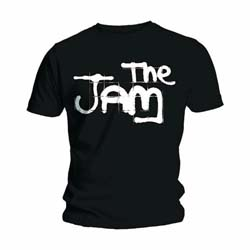 The Jam Men's Tee: Spray Logo Black