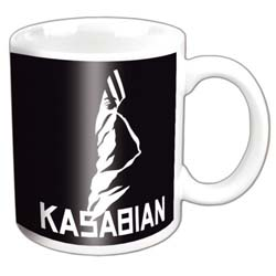 Kasabian Boxed Standard Mug: Ultraface Black
