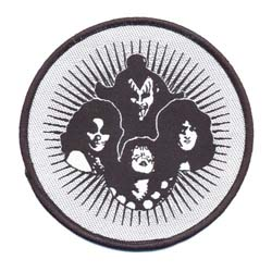 KISS Standard Patch: Heads in Circle