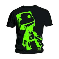 Little Big Planet Men's Tee: Sack Boy Green
