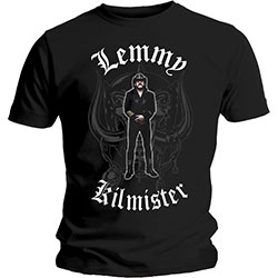 Lemmy Men's Tee: Memorial Statue