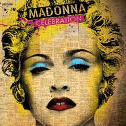 Madonna Greetings Card: Celebration