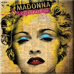 Madonna Fridge Magnet: Celebration