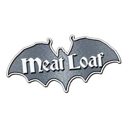 Meat Loaf Metal Pin: Bat Out Of Hell