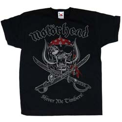 Motorhead Kids Youth's Fit Tee: Shiver Me Timbers