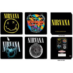 Nirvana Coaster Set: Mixed