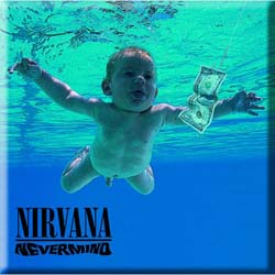 Nirvana Fridge Magnet: Never Mind