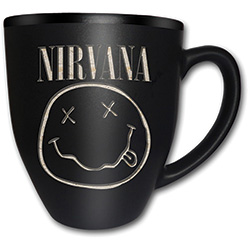 Nirvana Boxed Premium Mug: Smiley with Matt & Laser Etched Finish