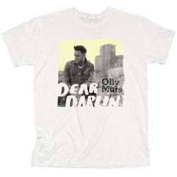 Olly Murs Ladies Tee: Dear Darlin' with Skinny Fitting
