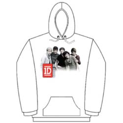 One Direction Ladies Pullover Hoodie: Photo Group