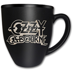 Ozzy Osbourne Boxed Premium Mug: Logo with Matt & Laser Etched Finish