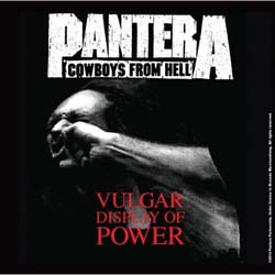 Pantera Single Cork Coaster: Vulgar