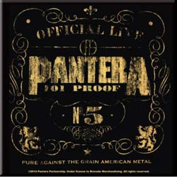 Pantera Fridge Magnet: Proof
