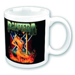 Pantera Boxed Standard Mug: Pole Dancer