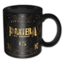 Pantera Boxed Standard Mug: Proof