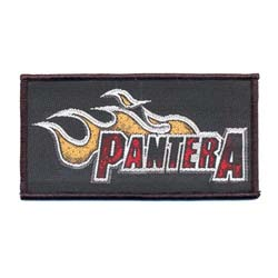Pantera Standard Patch: Flame