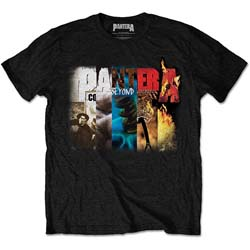 Pantera Men's Tee: Album Collage