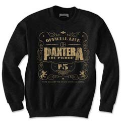 Pantera Men's Sweatshirt: 101 Proof