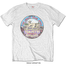 Tom Petty Men's Tee: The Great Wide Open with Soft Hand Inks