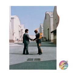 Pink Floyd Greetings Card: Wish you were here