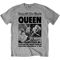 Queen Mens Tee: News of the World 40th Front Page
