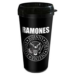 Ramones Travel Mug: Presidential Seal with Plastic Body
