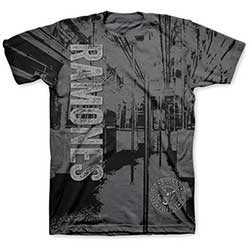 Ramones Men's Tee: Subway with Sublimation Printing