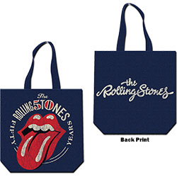 The Rolling Stones Cotton Tote: 50th Anniversary