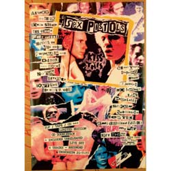 The Sex Pistols Postcard: Newspaper (Standard)