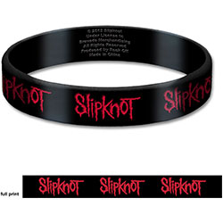Slipknot Gummy Wristband: Logo