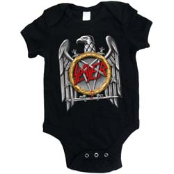 Slayer Kids Baby Grow: Silver Eagle