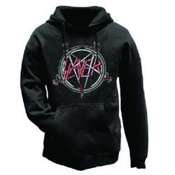 Slayer Men's Pullover Hoodie: Pentagram