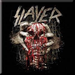 Slayer Fridge Magnet: Skull Clench