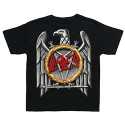 Slayer Kids Toddler's Tee: Silver Eagle